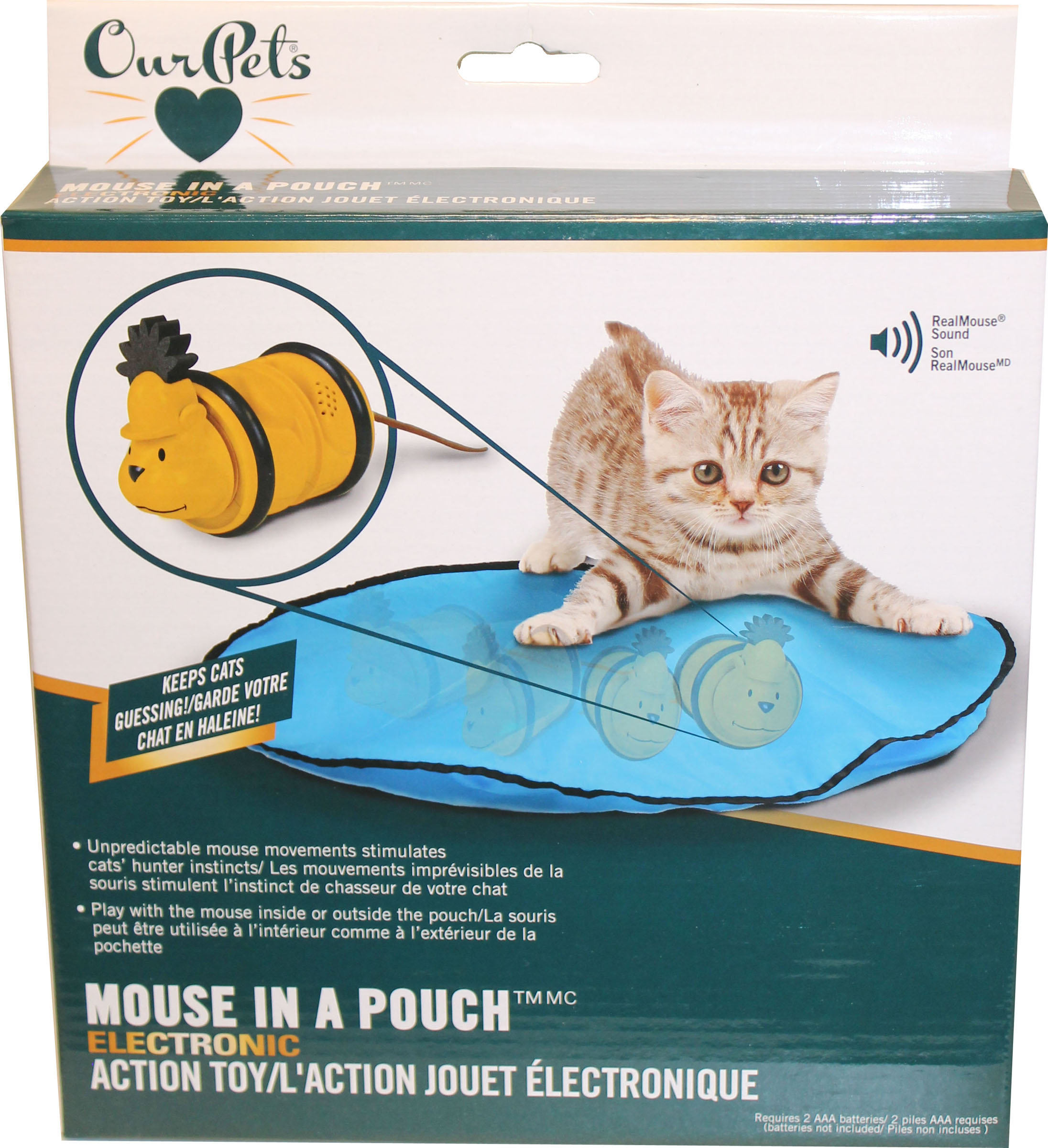 Mouse In Pouch Electronic Action Toy My Pet Store And More Votrr
